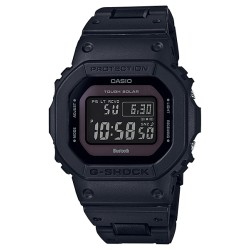 Casio G-shock da uomo solare bluetooth radio 6 band vintage black nero resina