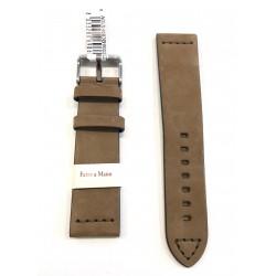 Cinturino orologio Morellato 20-22-24 mm pelle cuoio vintage scamosciata liscia