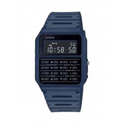 Casio vintage da uomo lcd ca-53w calculator crono watch digitale blu data giorno