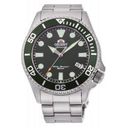 orologio da uomo Orient automatico Triton day diver 200 mt acciaio zaffiro verde
