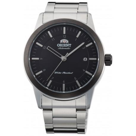 orologio da uomo Orient automatico contemporary 50 m acciaio minerale nero 41 mm