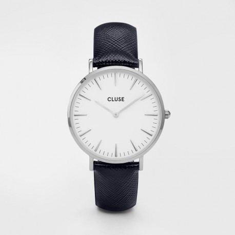 Cluse La Boheme CLUCL18232 Silver White Blu