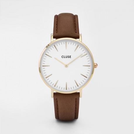 Cluse La Boheme CLUCL18408 Gold White Brown