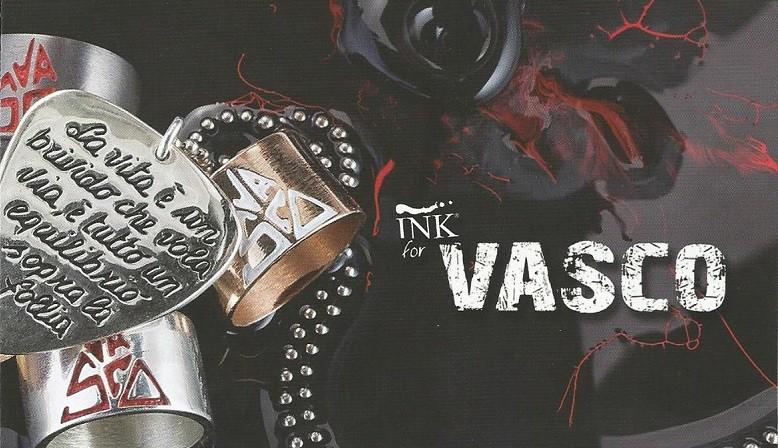 Ink Gioielli personalizza il tuo anello, collana, bracciale, ink for vasco, ink vasco rossi collection