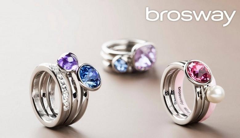 Gioielli Brosway  anelli, collane, bracciali, tring, tres jolie, orologi brosway