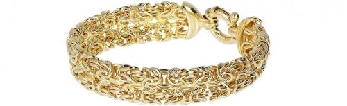 Gioielli Etrusca innovativi glamour ed eleganti placcati oro giallo 18 kt